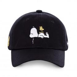 Casquette Snoopy Peanuts Noire Adulte Capslab - Casquette Héros The Duck