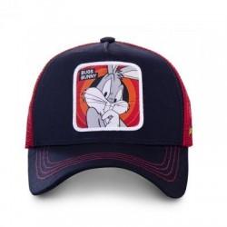Casquette Bugs Bunny Bleue Adulte Capslab - Casquette Héros The Duck