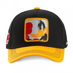 Casquette Daffy Noire et Jaune Adulte Capslab - Casquette Héros The Duck