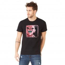 Tee Shirt Boo DBZ Noir Adulte Capslab - Tee-Shirt Héros The Duck