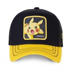 Casquette Pikachu Noire et Jaune Enfant Capslab - Casquette Héros The Duck