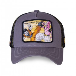 Casquette Gohan VS Majin Boo Dragon Ball Z Grise Adulte Capslab - Casquette Héros The Duck