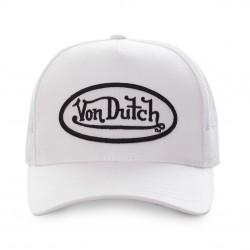 Casquette Blanche Adulte Von Dutch - Casquette Mode Urbaine The Duck