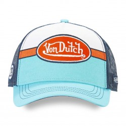 Casquette Bleue avec Filet Adulte Von Dutch - Casquette Mode Von Dutch The Duck