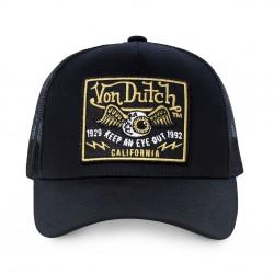 Casquette Eye Noire Filet Adulte Von Dutch - Casquette Mode Von Dutch The Duck