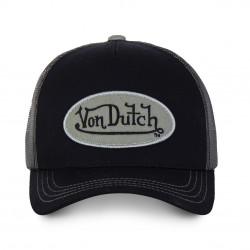 Casquette Baseball Classique Noire et Grise Adulte Von Dutch - Casquette Mode Von Dutch The Duck