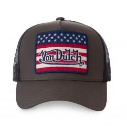 Casquette America Grise Adulte Von Dutch - Casquette Mode Von Dutch The Duck