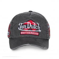 Casquette Brotherhood Grise Adulte Von Dutch - Casquette Mode Von Dutch The Duck