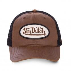 Casquette Baseball Marron Adulte Von Dutch - Casquette Mode Von Dutch The Duck