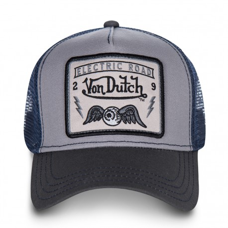 Casquette Electric Road avec Filet Adulte Von Dutch - Casquette Mode Von Dutch The Duck