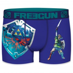 Boxer Homme Bleu The Legend of Zelda free gun - Boxer homme freegun The Duck