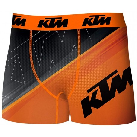 Boxer KTM Orange Homme Freegun - Boxer freegun humoristique The Duck