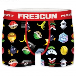 Boxer Mario Kart Item Box Freegun - Boxer humoristique freegun adulte et enfants The duck