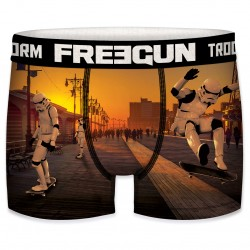 Boxer Stormtrooper Skateboard Californie Homme Freegun - Boxer humoristique Star wars Freegun The Duck