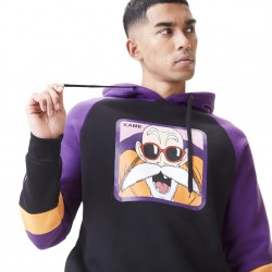 Sweat Shirt Capuche Kame Violet Dragon Ball Z Adulte - Vêtements Dragon Ball Capslab The Duck