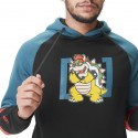 Sweat Shirt Capuche Bowser Super Mario Bros Adulte