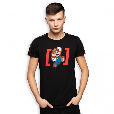 T Shirt Mario Super Mario Adulte - Vêtements Super Mario Capslab The Duck