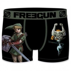Boxer Link The Legend of Zelda Noir Adulte Freegun - Boxer Zelda The Duck
