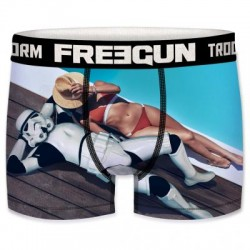 Boxer Stormtrooper Bronzage Piscine Star Wars Adulte Freegun - Boxer Stormtrooper Bronzage The Duck