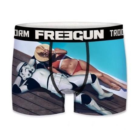 Boxer Stormtrooper Bronzage Piscine Star Wars Adulte Freegun - Boxer Stormtrooper Bronzage The Duck