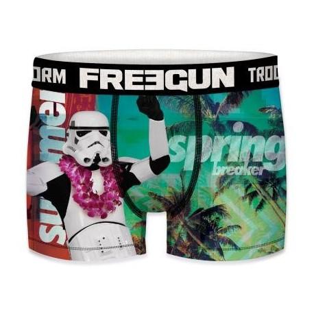Boxer Stormtrooper Spring Break Star Wars Adulte Freegun - Boxer Stormtrooper Spring Break The Duck