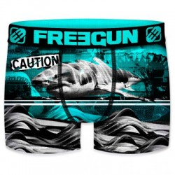 Boxer Requin Blanc Adulte Freegun - Boxer Requin The Duck