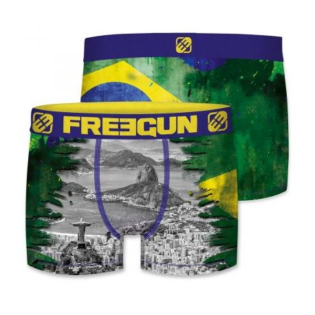 Boxer Brésil Adulte Freegun - Boxer Brésil The Duck
