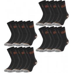 Lot de 12 paires de Chaussettes Homme Black & Decker - Chaussettes de Sport Homme The Duck
