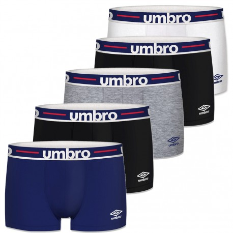 Lot de 5 Boxer Homme Umbro - Calecon homme sport Umbro The Duck