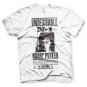 """T-shirt Poster Wanted Blanc Homme : """"UNDESIRABLE N°1"""""""