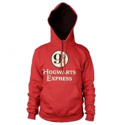 Ce hoodie rouge Poudlard Express Voie 9 3/4 adulte vous emmènera l'espace d'une journée voie 9 3/4, célèbre quai de départ du Poudlard Express. Attention, le train n'attend pas et Hagrid vous attend à Poudlard !