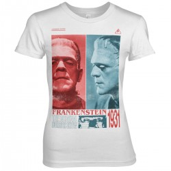 T-Shirt Frankenstein The Original Horror Show Femme Universal Monsters
