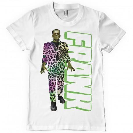 T-Shirt Frankenstein Costume Léopard Homme