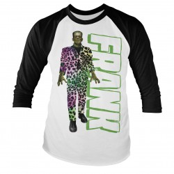 T-Shirt Manches Longues Frankenstein Costume Léopard Adulte Universal Monsters