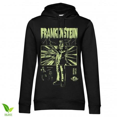 Sweatshirt Capuche Frankenstein Femme Universal Monsters