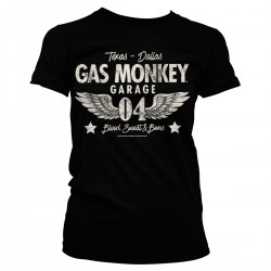 T-Shirt Femme Blood Sweat and Beers Gas Monkey