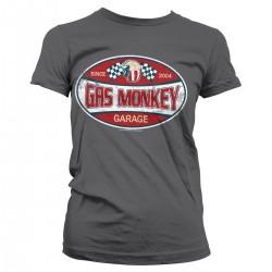 T-shirt Femme Since 2004 Garage Gas Monkey