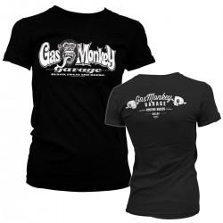 T-Shirt Femme Logo Gas Monkey