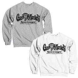 Sweatshirt Adulte Logo Garage Gas Monkey