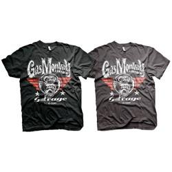 T-Shirt Homme Symbole Garage Gas Monkey