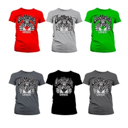 T-Shirt Femme Rallye Garage Gas Monkey