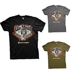 T-Shirt Homme Amortisseurs Garage Gas Monkey