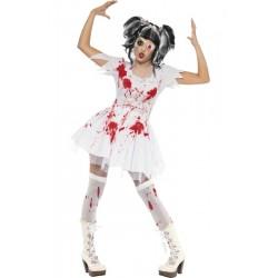 Déguisement Poupée Zombie Femme - Costume Zombie Femme Halloween The Duck