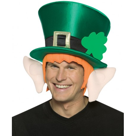 Chapeau Leprechaun Vert Adulte - Déguisement Saint Patrick Adulte Chapeau The Duck