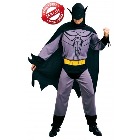 Déguisement d'Homme Chauve-Souris Gris Homme - Costume Super Héros The Duck