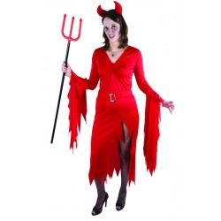 Déguisement Diablesse Rouge Femme - Costume Diable The Duck