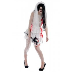 Déguisement de Mariée Zombie Femme