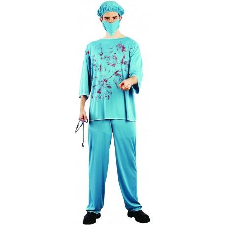 Déguisement Chirurgien Homme Halloween - Costume médecin Homme Halloween The Duck