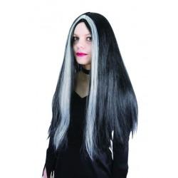 Perruque Noire de Sorcière Femme