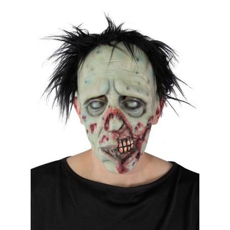 Déguisement Masque Zombie Cheveux Adulte - Costume Masque The Duck